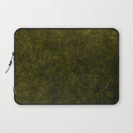 olive green velvet | texture Laptop Sleeve