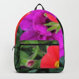 Calibrachoa Flowers Backpack