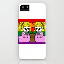 LOVE IS EQUAL! (Femme) iPhone Case