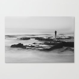 Cottesloe Fisherman Canvas Print