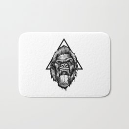 Angry Kong Bath Mat