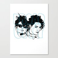 broad city Canvas Prints featuring Broad City by SeanAndOnAndOn