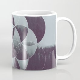 Sacred Geometry in the Forest Coffee Mug