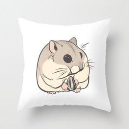 Hamster 1 Throw Pillow