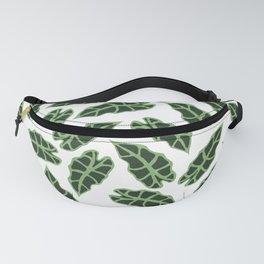 Caladium Alocasia Leaf Pattern Fanny Pack