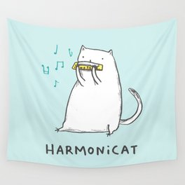 Harmonicat Wall Tapestry