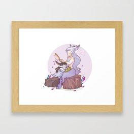 Faun Chloe Framed Art Print
