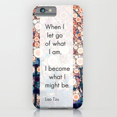 Daily Meditation Quote iPhone 6s Slim Case