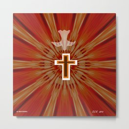 The Holy Spirit By Saribelle Rodriguez Metal Print