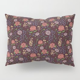 Vintage Peony Pillow Sham