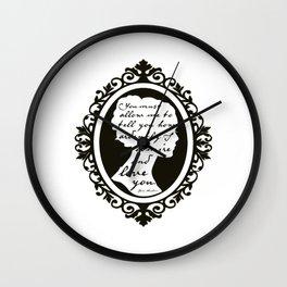 In Vain I Have Struggled Wall Clock