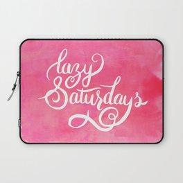 Lazy Saturdays Laptop Sleeve