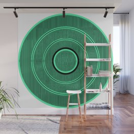 green frequency Wall Mural