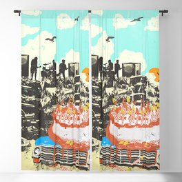 JUNKYARD BIRTHDAY Blackout Curtain
