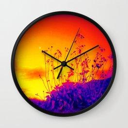 Purple Persuasion  Wall Clock