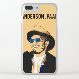 Anderson .Paak Clear iPhone Case