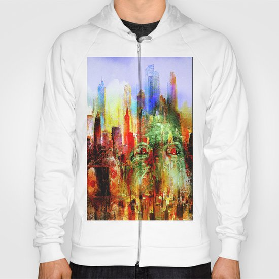 welcome to scary city Hoody
