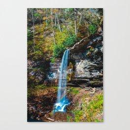 Falls of Hills Creek Sixty Five 1017 Canvas Print