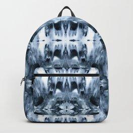 Psychedelic Tie Dye Black & White mosaic Backpack