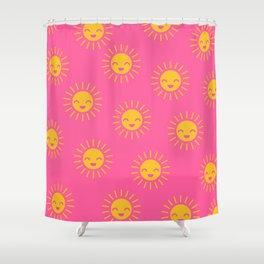Litlle Sunshine (pink 2) Shower Curtain