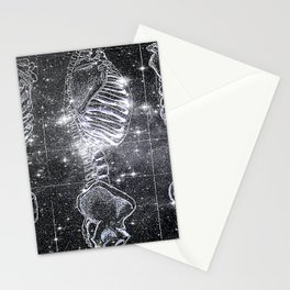 Space Bones Stationery Cards