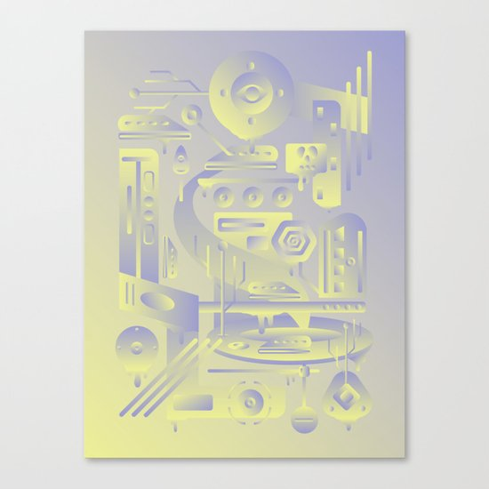 Geometromorphic Future Canvas Print