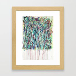Meadows (Self- Portrait) Framed Art Print