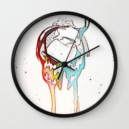 under birds skin 2 Wall Clock