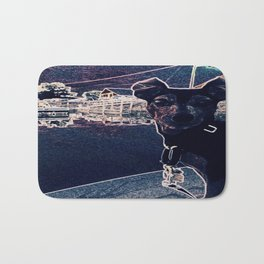 Min Pin on a boat Bath Mat