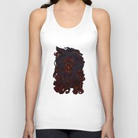berserk Tank Tops featuring THE HOUND by SOMNIVAGRIOUS