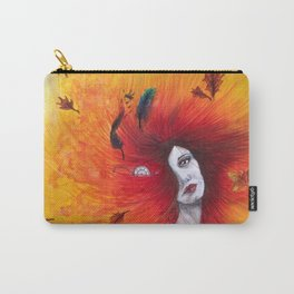 Autumn/Fall Watercolour Carry-All Pouch