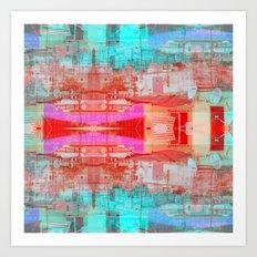 Summarized until meander memories exert recourses. Art Print