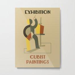 Exhibition cubist paintings Metal Print