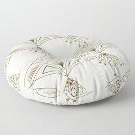 Art Deco 33 Floor Pillow