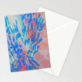 Blue Petal Surge Stationery Cards