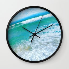 In the middle of the day Wall Clock