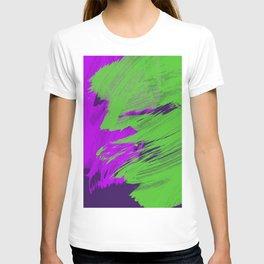 Contrasting Splash T-shirt