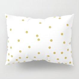 Golden Confetti Pillow Sham