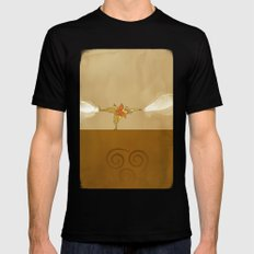 Avatar Aang Black Mens Fitted Tee X-LARGE