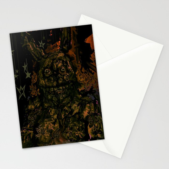 Springtrap Portrait Stationery Cards