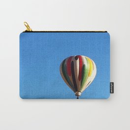 White Hot Air Balloon Carry-All Pouch