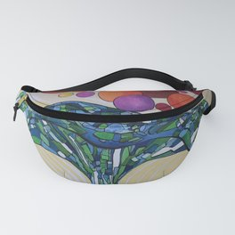 Music wave Fanny Pack