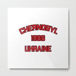 Chernobyl, Ukraine, 1986 Metal Print