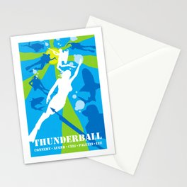 James Bond Golden Era Series :: Thunderball Stationery Cards