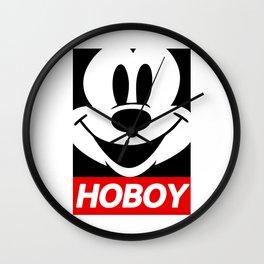 Mickey Ho Boy Wall Clock