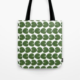 Cyclamen leaf pattern Tote Bag