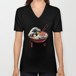 Great Ramen Wave Unisex V-Neck