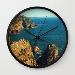 Cabo da Roca, Portugal Analog 6x6 Kodak Ektar 100 (RR 160) Wall Clock