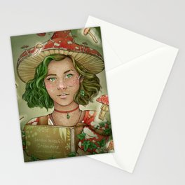 The Mushroom Witch Stationery Cards