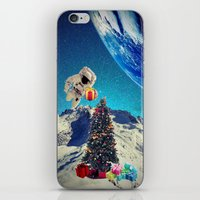 christmas tree iPhone & iPod Skins featuring Christmas Tree by Cs025